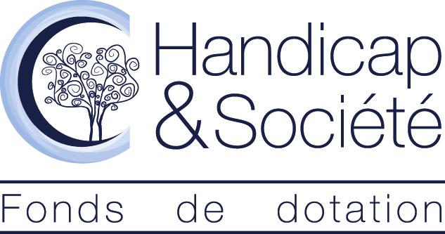 Logo Fondation Handicap et société